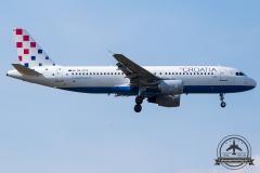 9A-CTK Croatia Airlines Airbus A320-214 - cn 1237
