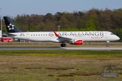 OE-LWH Austrian Airlines Embraer ERJ-195LR (ERJ-190-200 LR) - cn 19000486
