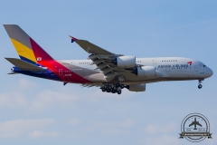 HL7635 Asiana Airlines Airbus A380-841 - cn 183