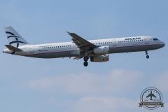 SX-DGA Aegean Airlines Airbus A321-231 - cn 3878