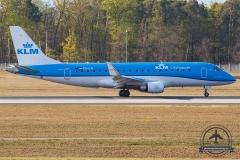 PH-EXI KLM Cityhopper Embraer ERJ-175STD (ERJ-170-200) - cn 17000578