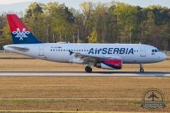YU-API Air Serbia Airbus A319-132 - cn 1140