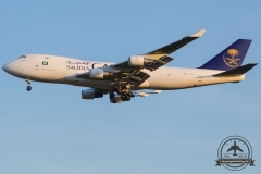 TC-MCT Saudi Arabian Airlines Boeing 747-412F - cn 26559 / 1285