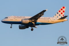 9A-CTL Croatia Airlines Airbus A319-112 - cn 1252