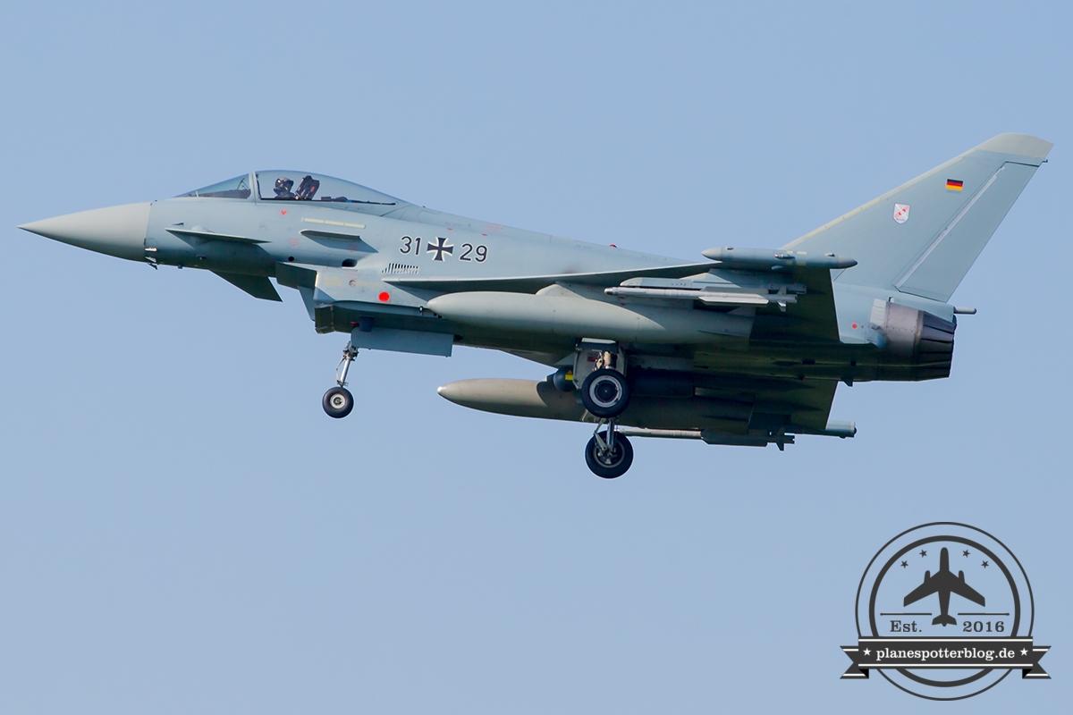 31+29 Eurofighter EF-2000 Typhoon S German Air Force (Luftwaffe) TaktLwG 31