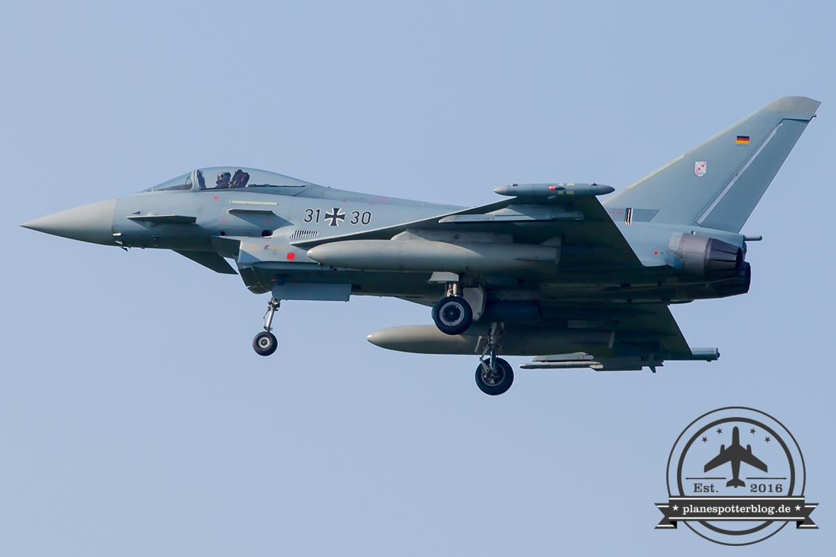 31+30 Eurofighter EF-2000 Typhoon S German Air Force (Luftwaffe) TaktLwG 31