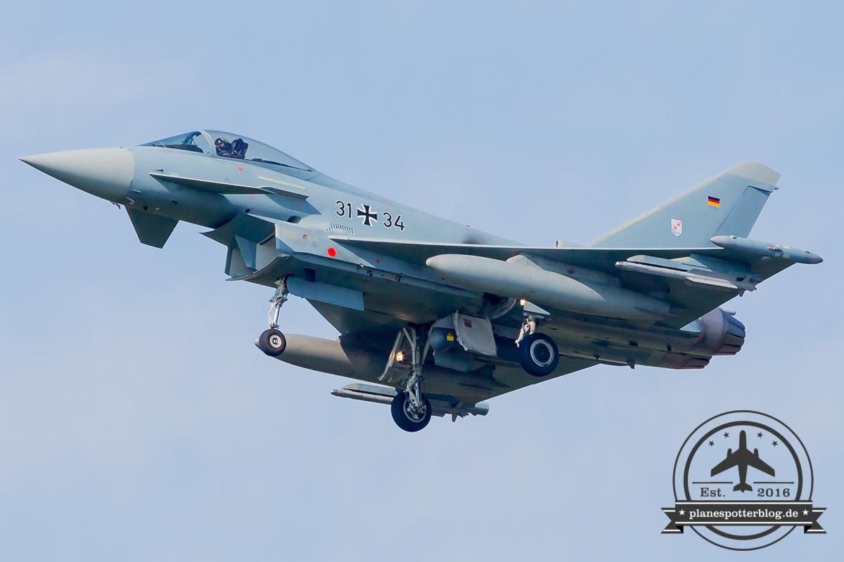 31+34 Eurofighter EF-2000 Typhoon S German Air Force (Luftwaffe) TaktLwG 31