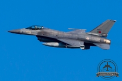 15104 General Dynamics F-16AM Fighting Falcon Portuguese Air Force Monte Real Esq 201