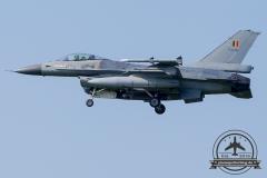 FA-116 General Dynamics F-16AM Fighting Falcon Belgian Air Force Kleine Brogel 10 Wing 31 Sqn