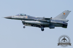 FA-118 General Dynamics F-16AM Fighting Falcon Belgian Air Force Kleine Brogel 10 Wing 31 Sqn