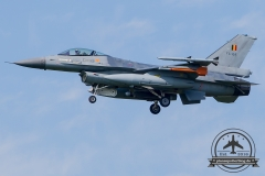 FA-124 General Dynamics F-16AM Fighting Falcon Belgian Air Force Kleine Brogel 10 Wing