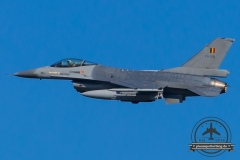 FA-128 General Dynamics F-16AM Fighting Falcon Belgian Air Force Florennes 2 Wing