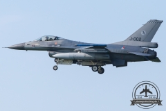 J-002 General Dynamics F-16AM Fighting Falcon Royal Netherlands Air Force Leeuwarden 322Sqn