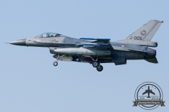 J-005 General Dynamics F-16AM Fighting Falcon Royal Netherlands Air Force Volkel 313 Sqn