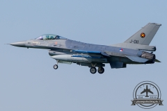 J-011 General Dynamics F-16AM Fighting Falcon Royal Netherlands Air Force Volkel 312 Sqn