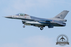 J-016 General Dynamics F-16AM Fighting Falcon Royal Netherlands Air Force Volkel 312 Sqn