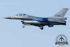 J-020 General Dynamics F-16AM Fighting Falcon Royal Netherlands Air Force Volkel 313 Sqn