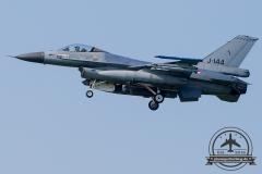 J-144 General Dynamics F-16AM Fighting Falcon Royal Netherlands Air Force Leeuwarden 323Sqn
