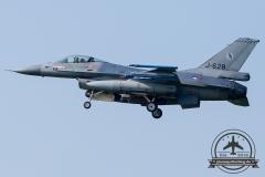 J-628 General Dynamics F-16AM Fighting Falcon Royal Netherlands Air Force Leeuwarden 322Sqn