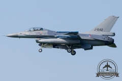 J-642 General Dynamics F-16AM Fighting Falcon Royal Netherlands Air Force Volkel 312 Sqn