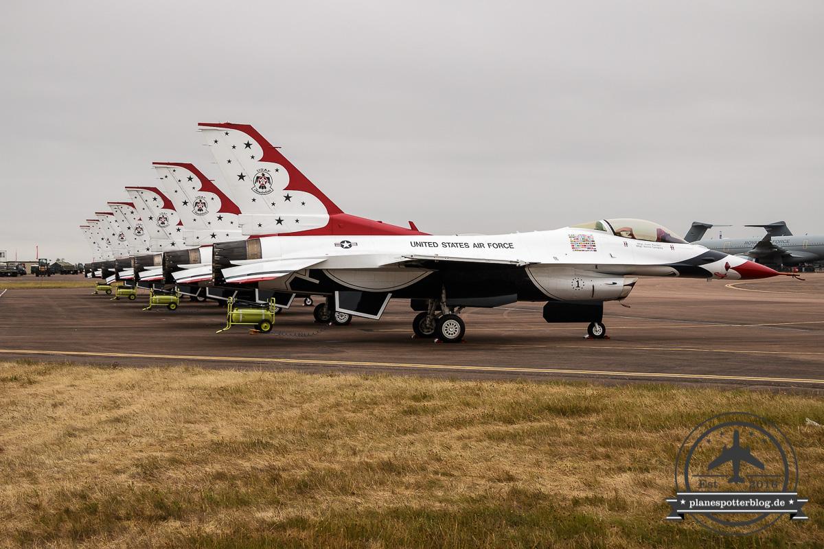 RIAT USAF Thunderbirds