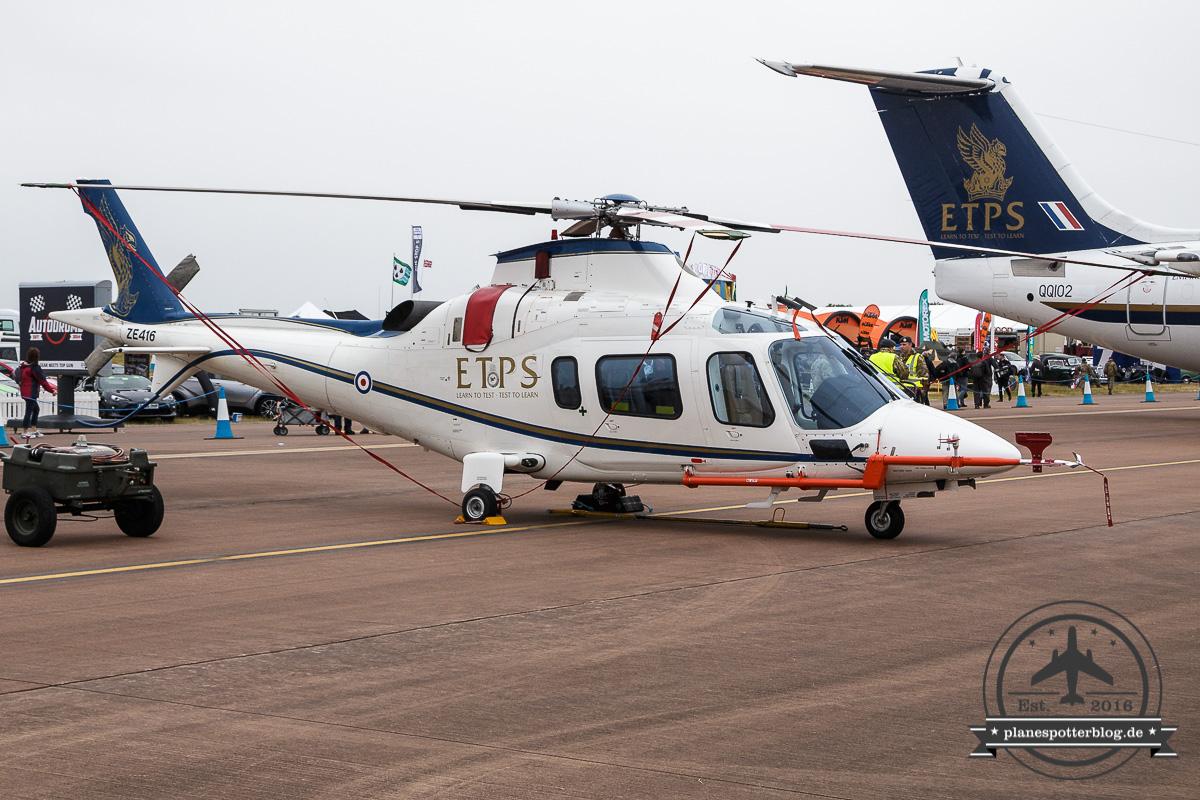 RIAT AgustaWestland A109 ZE416 ETPS