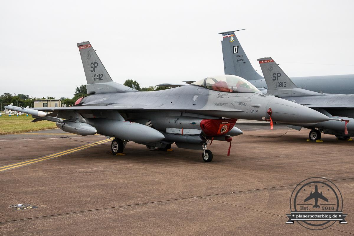 RIAT F-16CM 480th FS Spangdahlem AB
