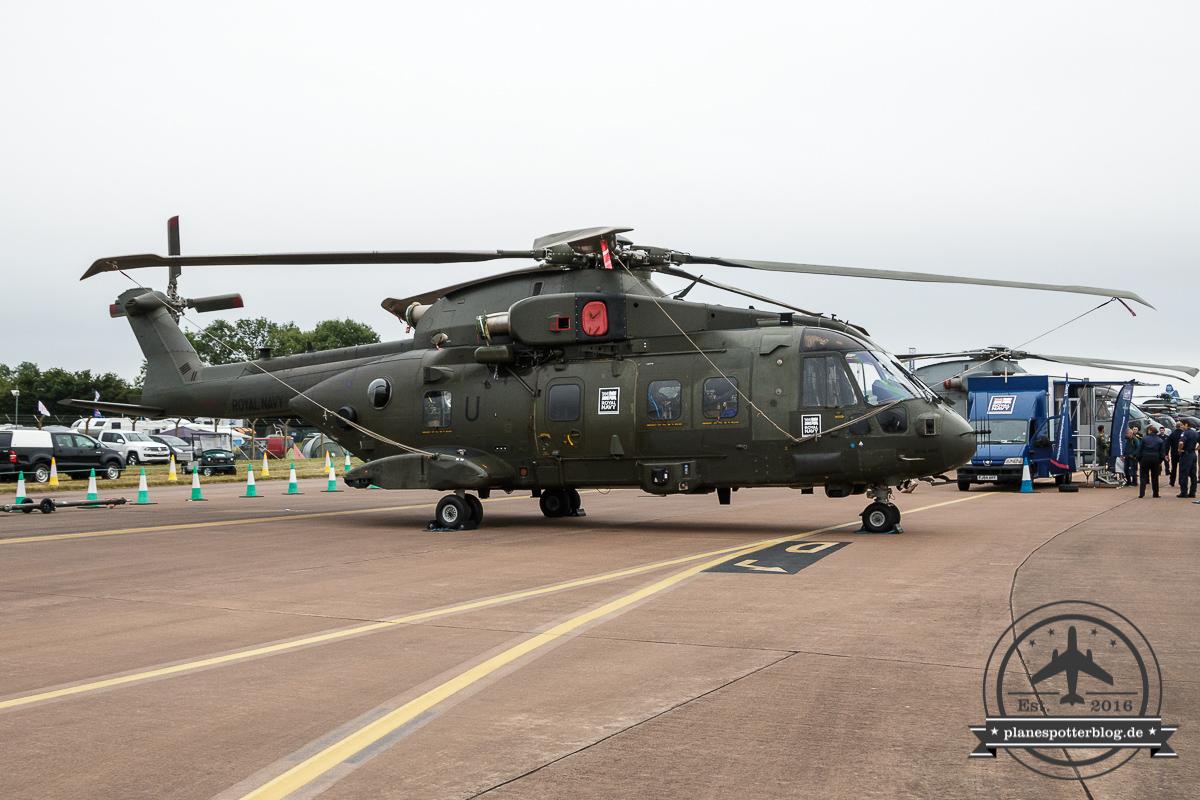 RIAT AgustaWestland HC.3 ZJ136/U