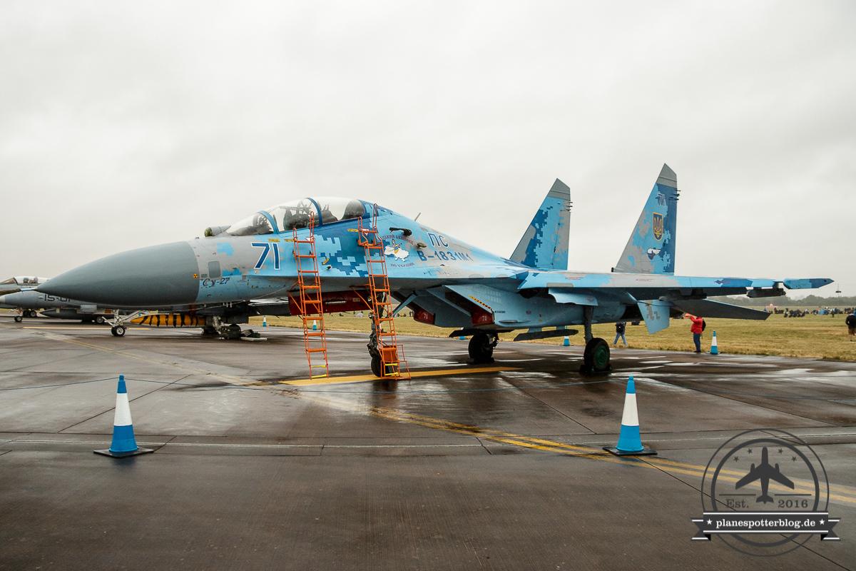 RIAT SU-27 Flanker