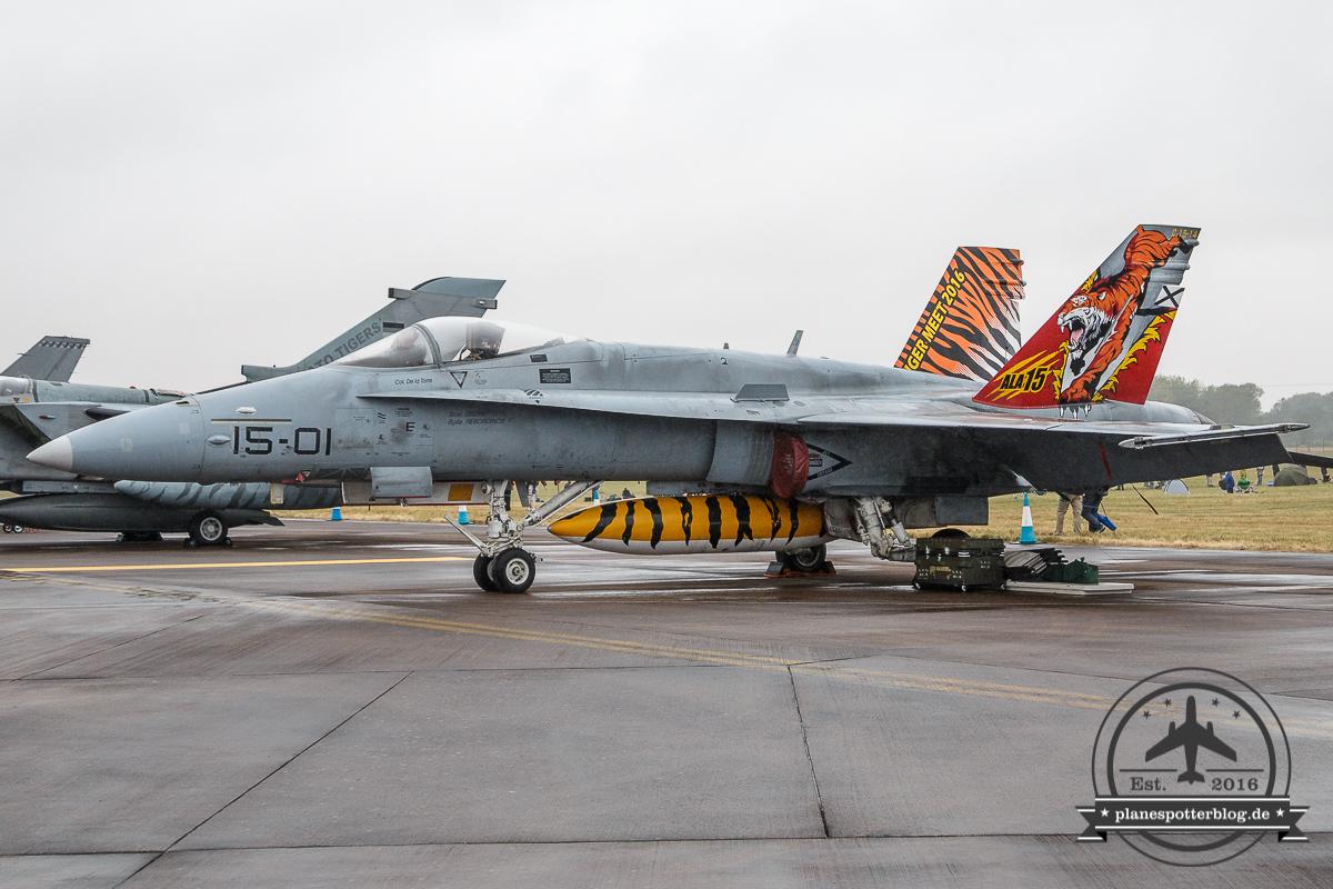 RIAT EF-18M 15-01 C.15-14 ALA15