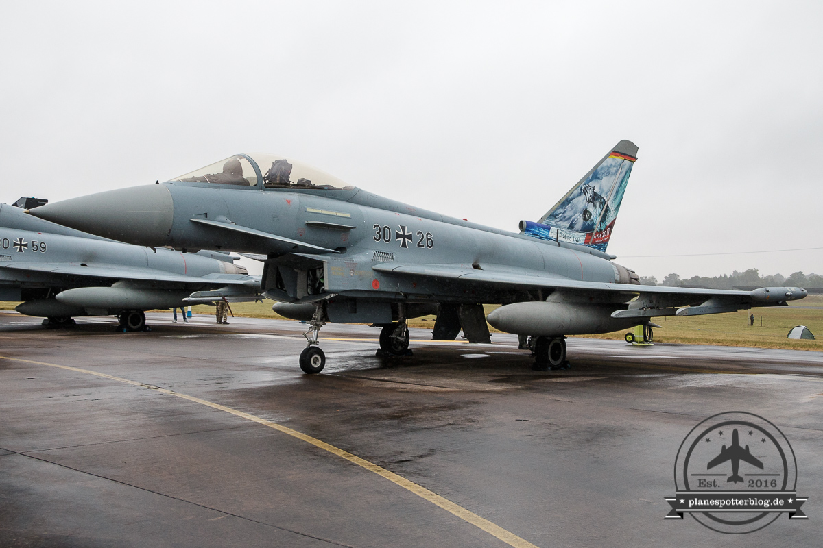 RIAT GAF Eurofight 30+26 NTM17