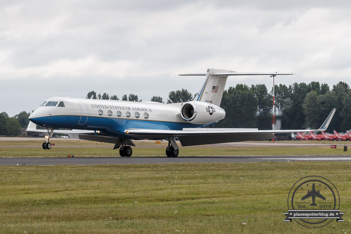 RIAT USAF C-37A 01-0028 6th Air Mobility Wing, 310th Airlfift Squadron