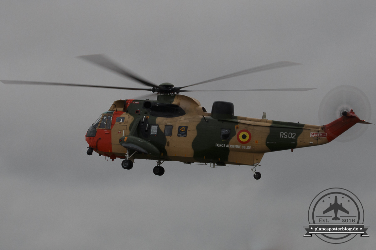 RIAT Belgian Air Component Westland Sea King Mk.48 RS02