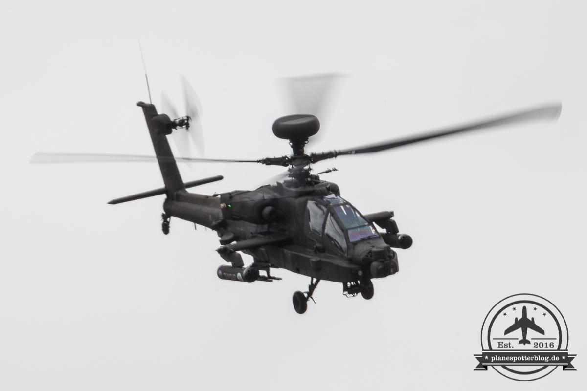 RIAT 2017 Royal Army Air Corps Gunship Display