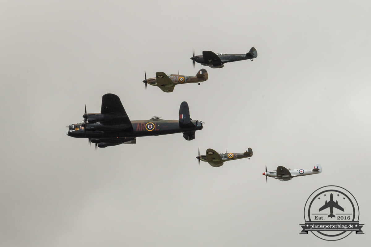RIAT BBMF Display