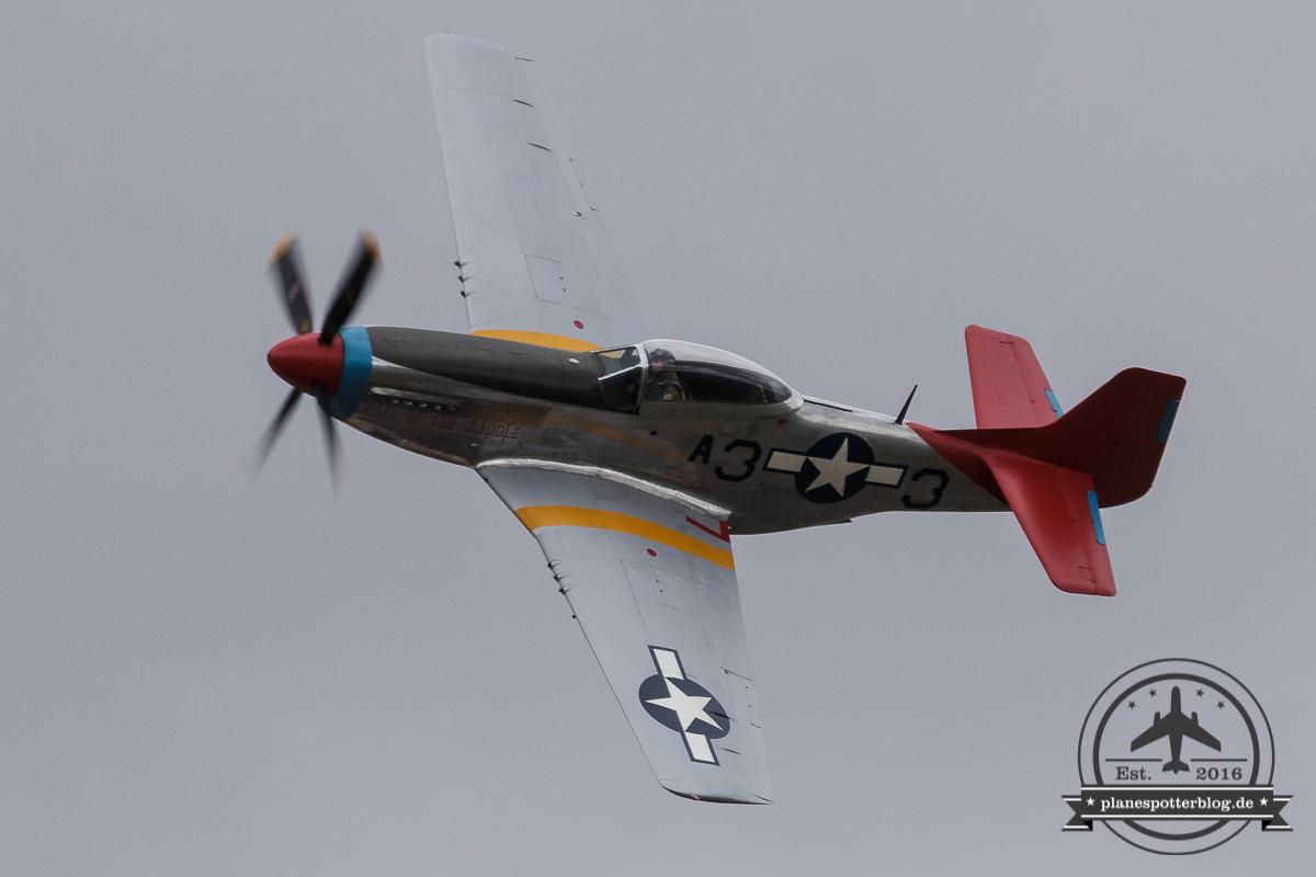 RIAT Hangar 11 P-51D Mustang