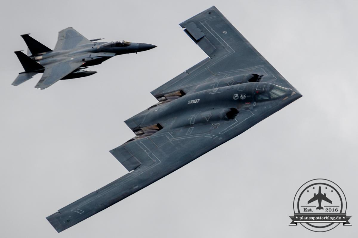 RIAT USAF Northrop B-2 Spirit
