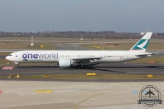 B-KPL B777-300ER Cathay Pacific oneworld Terrasse