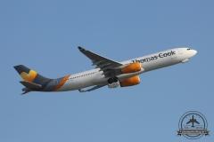 OY-VKG A330-300 Thomas Cook Scandinavia Anflug 05L Pizzabude