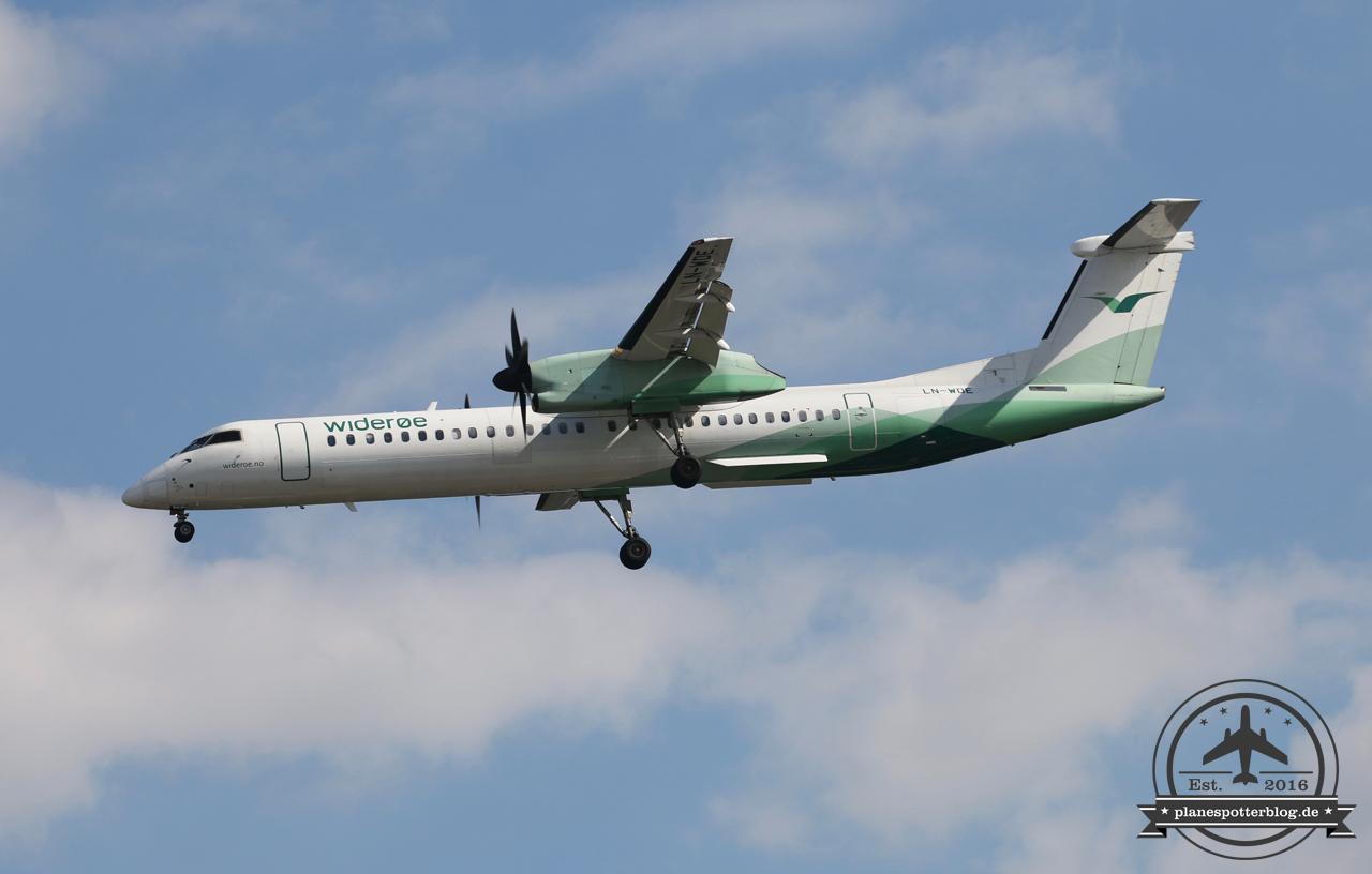 Wideroe Dash8Q400 LN-WDJ