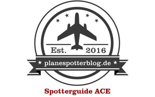 Spotterguide Flughafen Lanzarote (ACE/GCRR)