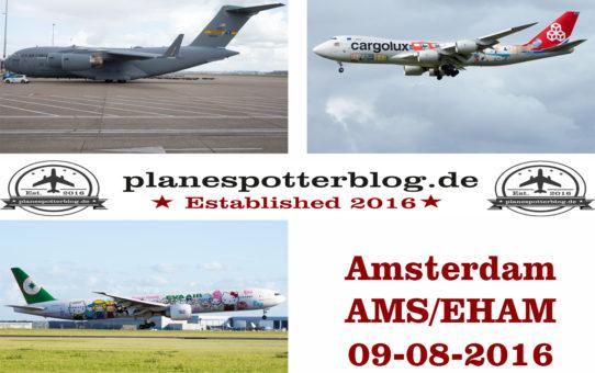 Amsterdam AMS am 09-08-2016