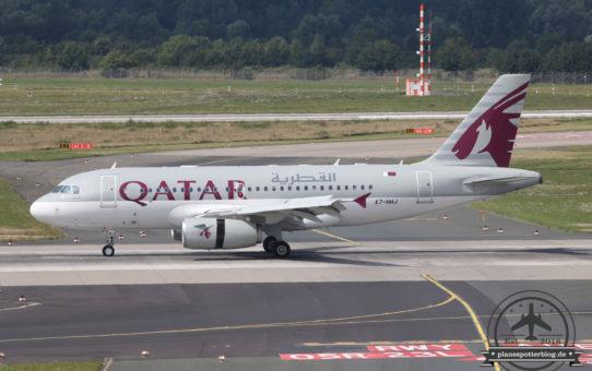 14.08.2016 DUS Qatar Emiri Flight A319CJ