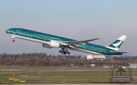 Ein Jahr Cathay Pacific in Düsseldorf