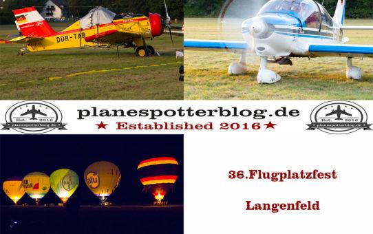 36. Flugplatzfest in Langenfeld