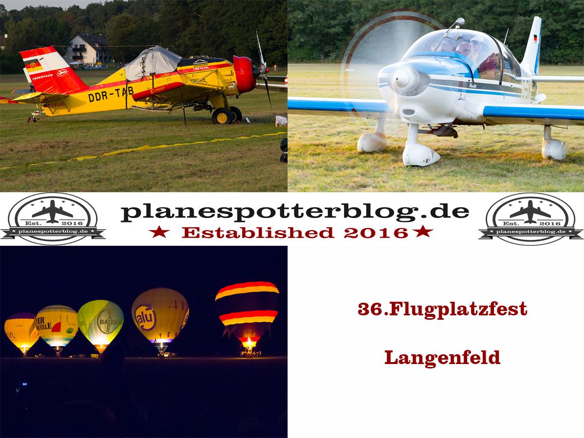 Flugplatzfest in Langenfeld