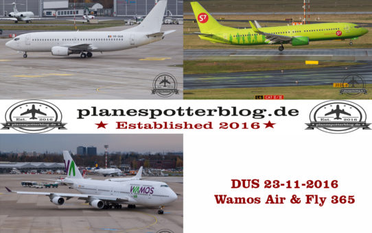 Wamos - Fly365 - DUS am 23.11.2016
