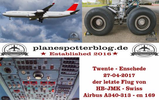 Twente - Enschede Airport 27-04-2017