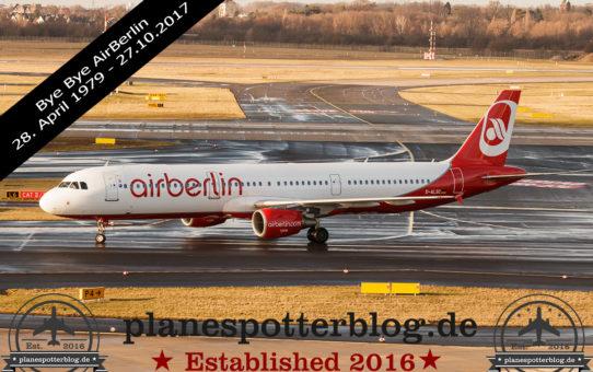 BYE BYE AirBerlin, Lebewohl