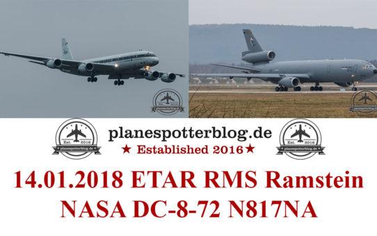 NASA DC-8-72 Ramstein 2018